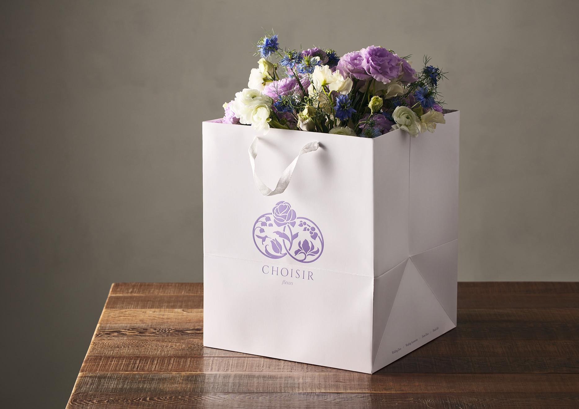 flower brand design